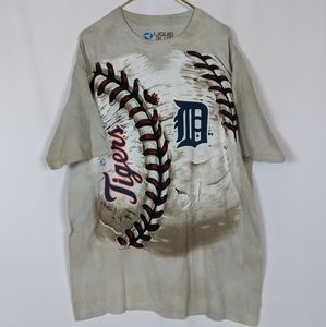 Detroit Tigers Baseball MLB Short Sleeve Tee Shirt